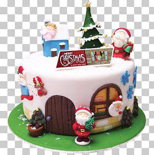Birthday Cake Sugar Cake Gingerbread House Torte Cake Decorating PNG