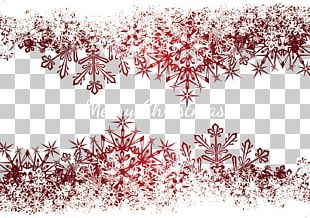 Snowflake Schema Greeting Card PNG