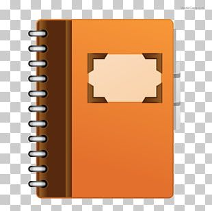 Laptop Notebook Paper Book Cover PNG
