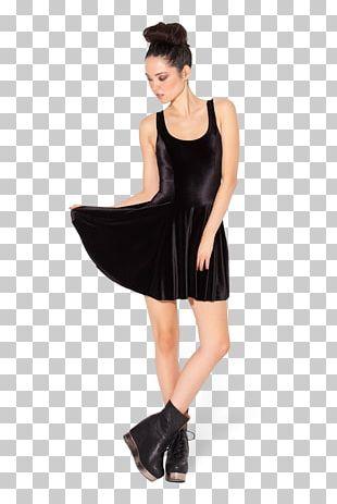 Little Black Dress Velvet Party Dress Clothing PNG