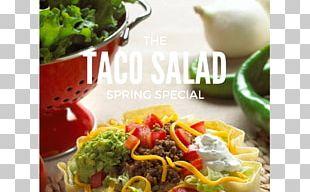 Vegetarian Cuisine Taco Salad Tex-Mex Burrito PNG
