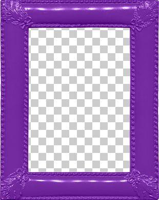 Frame Purple Area Pattern PNG
