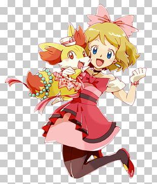 Pokémon X And Y Serena Ash Ketchum Pikachu PNG
