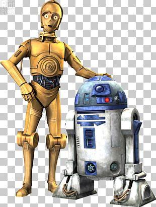 R2-D2 C-3PO BB-8 Clone Wars Star Wars PNG