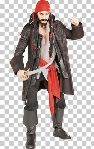 Costume Party Jack Sparrow Piracy Clothing PNG