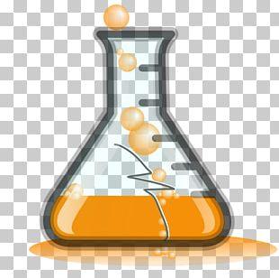 Laboratory Flasks Beaker Chemistry PNG