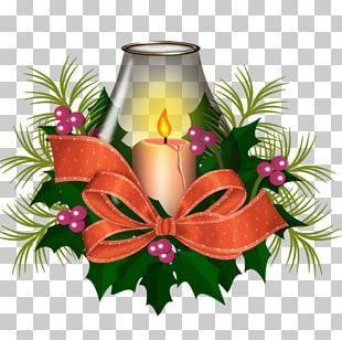 Christmas Candle PNG