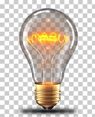 Incandescent Light Bulb Electric Light PNG
