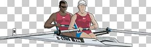 Rowing Stock Illustration Canoe Illustration PNG