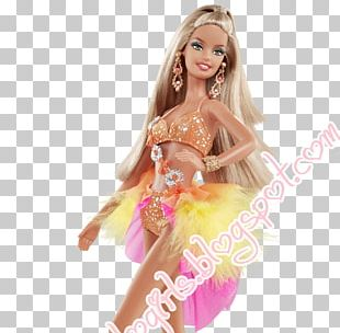 Dancing With The Stars Barbie Dance Doll Toy PNG