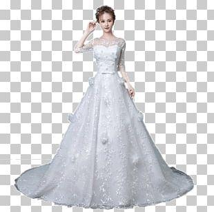 Wedding Dress Bride Clothing Formal Wear PNG