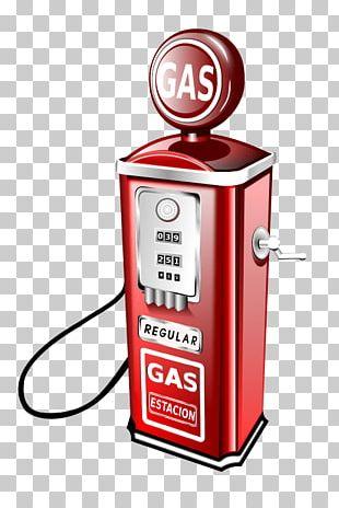 Vintage Petrol Pump PNG