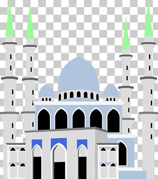 Sultan Ahmed Mosque Crystal Mosque PNG