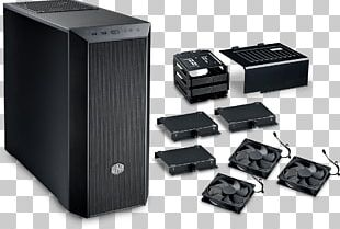 Computer Cases & Housings Power Supply Unit Cooler Master Silencio 352 Personal Computer PNG
