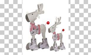 Reindeer Figurine Moose Horse Metal PNG