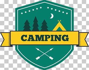 Camping Logo Illustration PNG