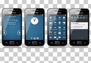 Feature Phone Smartphone Samsung Galaxy Ace Handheld Devices Multimedia PNG