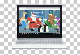Google Pixelbook Santa Claus Google Maps Christmas Day PNG