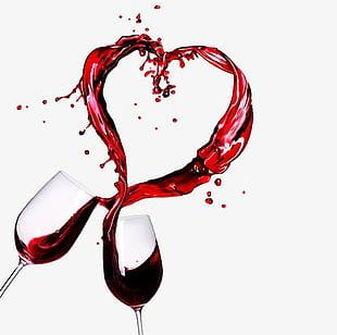 Splash Of Red Wine PNG