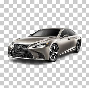 2018 Lexus LS 500 F Sport Car Vehicle PNG