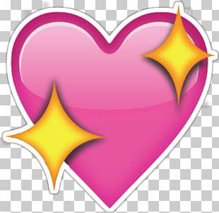 Sparkling Wine Emoji Heart Sticker Love PNG