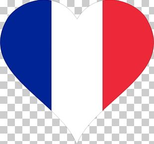 Flag Of France Heart PNG