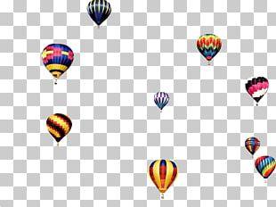 Hot Air Balloon Line PNG