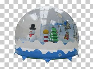 Inflatable Santa Claus Snow Globes Christmas Day PNG