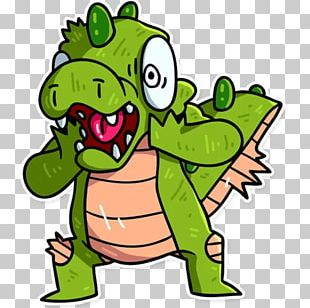 Tree Frog Illustration Green PNG