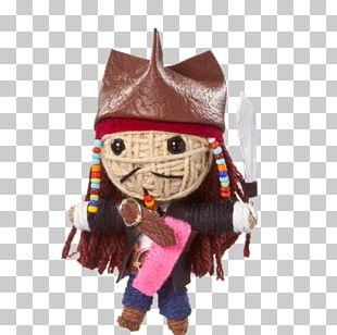 West African Vodun Voodoo Doll Jack Sparrow Figurine PNG