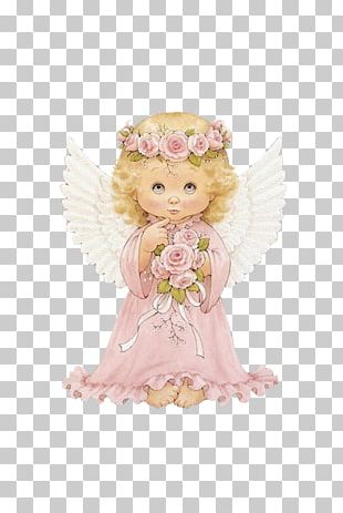 Cherub Guardian Angel Infant PNG