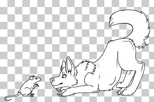 Dog Puppy Drawing Cat Canidae PNG