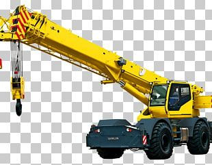 Mobile Crane Architectural Engineering Heavy Machinery Service PNG