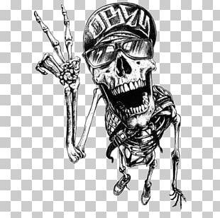 T-shirt Skull Graffiti Tattoo Drawing PNG