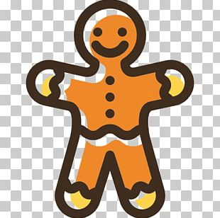 Gingerbread Man Icon PNG