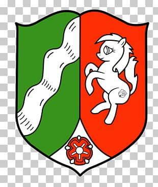 Coat Of Arms Of North Rhine-Westphalia States Of Germany Rhineland Saxon Steed PNG