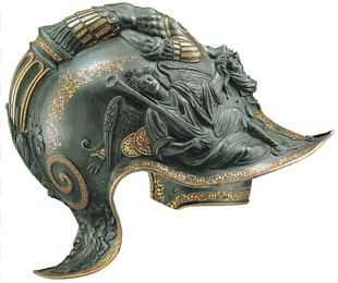 Combat Helmet Burgonet Helmschmied Holy Roman Emperor PNG