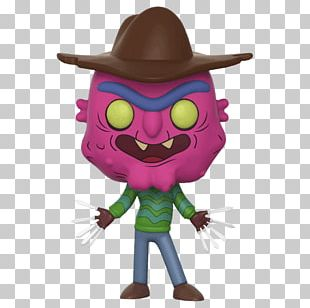 Freddy Krueger Funko Rick Sanchez Collectable Amazon.com PNG