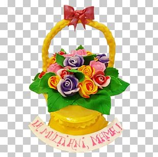 Cake Decorating Cut Flowers Torte-M PNG