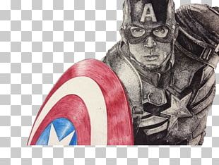 Captain America Drawing Cartoon Painting Illustration PNG