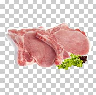 Domestic Pig Back Bacon Ham Meat Chop PNG
