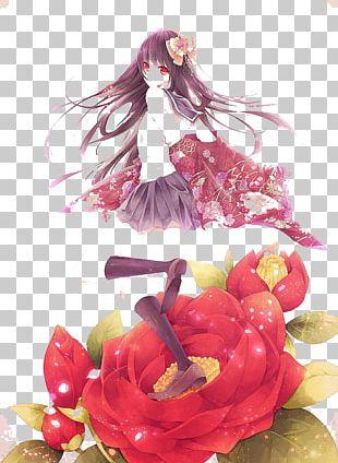 Anime Girl Manga Chibi PNG