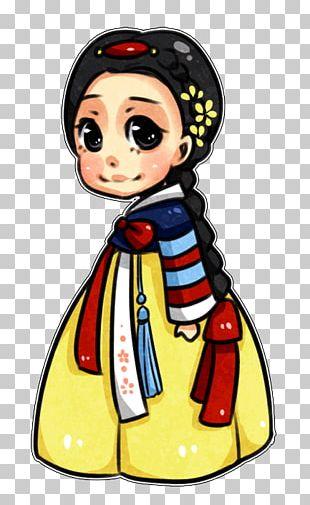 Tiana Snow White Hanbok Korea Disney Princess PNG
