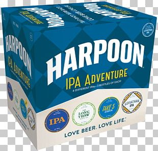 Harpoon Brewery Beer Harpoon IPA India Pale Ale PNG