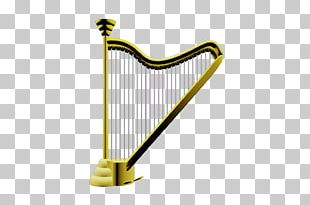 Celtic Harp Musical Instruments Konghou Plucked String Instrument PNG