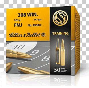 .30-06 Springfield Sellier & Bellot Ammunition Full Metal Jacket Bullet Caliber PNG