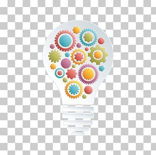 Incandescent Light Bulb Gear Euclidean Illustration PNG
