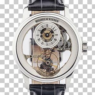 Watch Strap Wilhelm Rieber Platinum PNG