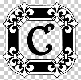 Letter Illuminated Manuscript Initial Alphabet PNG