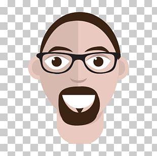 Nose Glasses Cheek Cartoon PNG